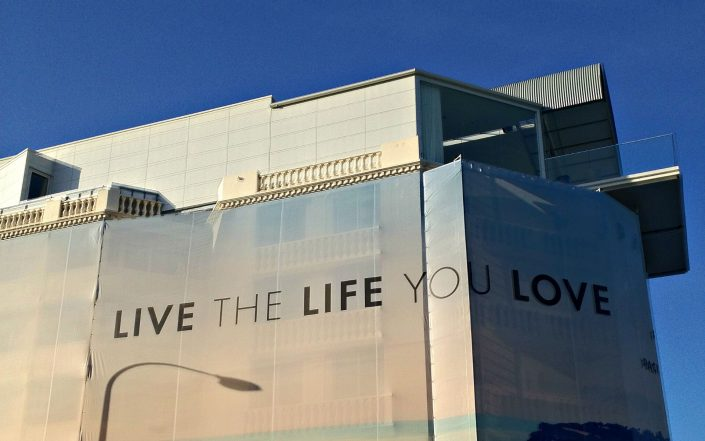 Vivez la vie que vous aimez