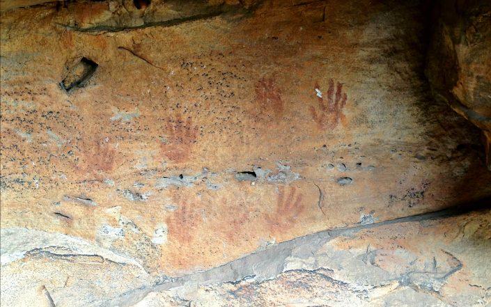 Art rupestre aborigène dans les Grampians