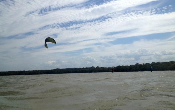 Cours de kitesurf sur la Sunshine Coast