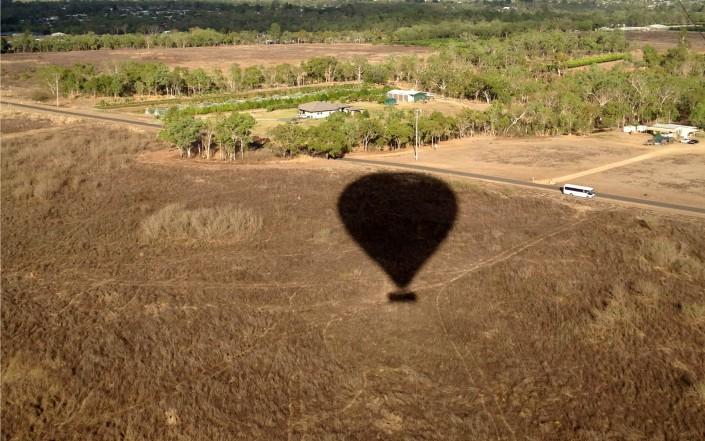 Vol en montgolfière au-dessus de Cairns
