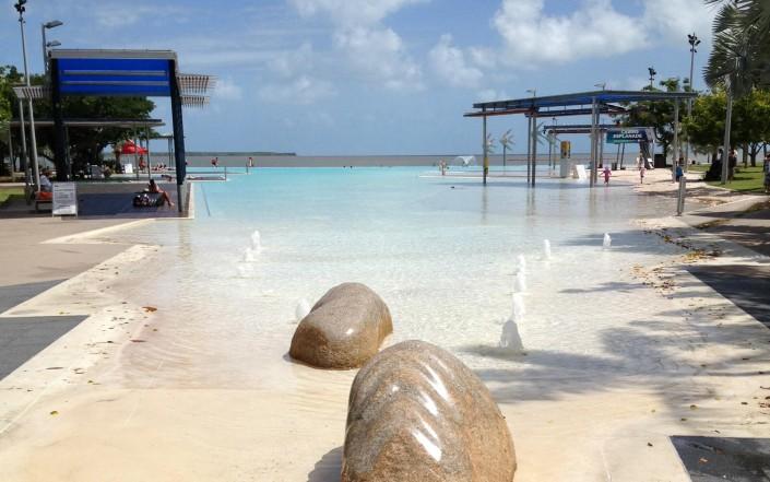 Cairns, une ville de tourisme