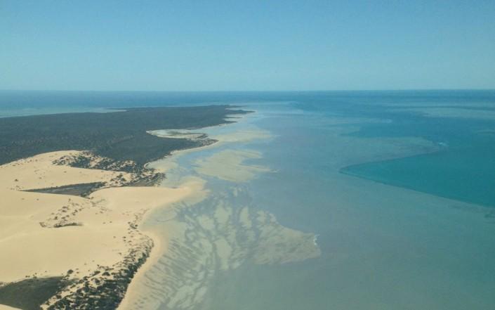 Shark Bay vue du ciel