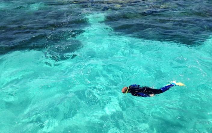 Snorkeling à Coral Bay